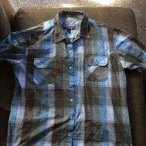 Anchor Blue collar shirt